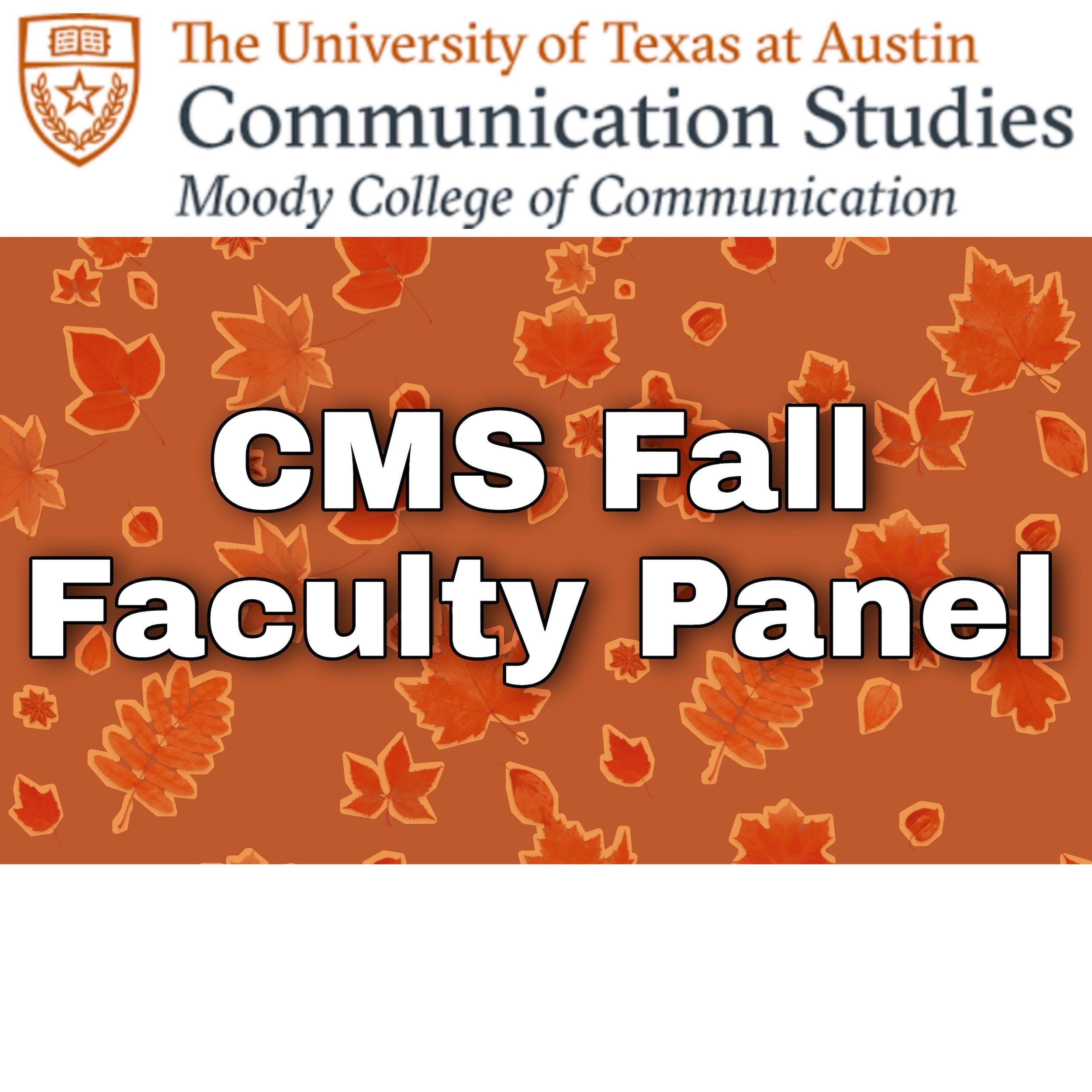 CMS_Fall_Faculty_Panel